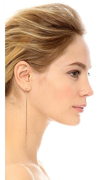 Michael Kors Animal Instinct Statement Chain Earrings