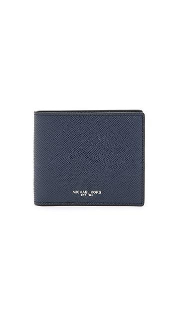 Michael Kors Harrison Leather Billfold
