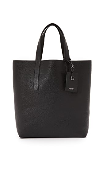 Michael Kors Mason North South Reversible Leather Tote