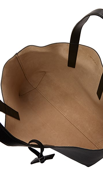 Michael Kors Mason East West Reversible Leather Tote