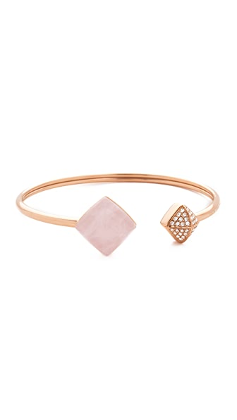 Michael Kors Rose Quartz Flex Cuff Bracelet