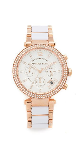 Michael Kors Parker Watch - Rose Gold