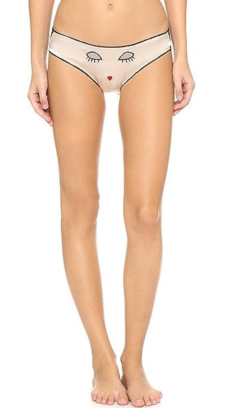 Morgan Lane Amanda Fatherazi Lacey Lids Panties - Multi