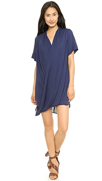 MLM LABEL Ziggy Roll Sleeve Dress