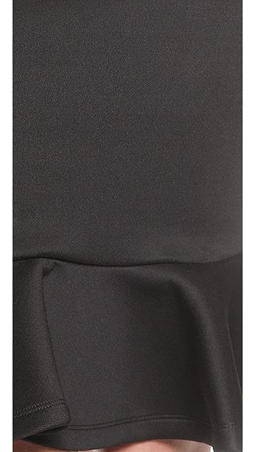 MLM LABEL Flip Hem Pencil Skirt