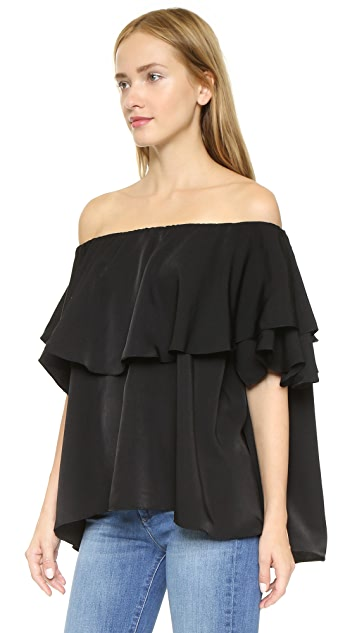 MLM LABEL Maison Off Shoulder Top