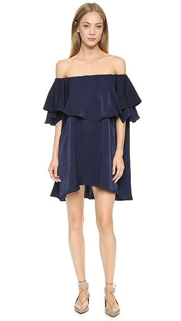 MLM LABEL Maison Off Shoulder Dress