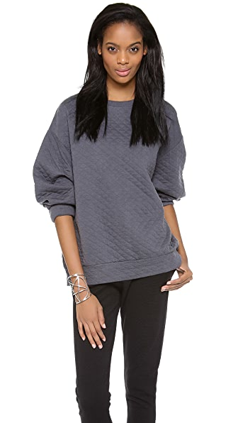 Margaux Lonnberg Quilted Pullover
