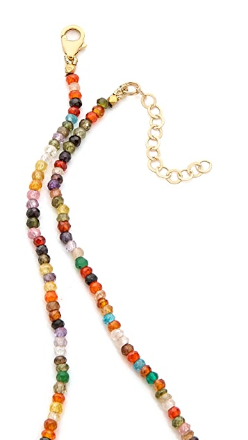 Mary Louise Designs Beaded Pendant Necklace