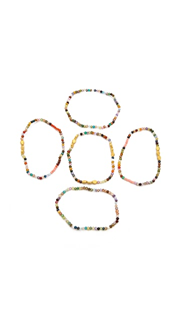 Mary Louise Designs Beaded Bracelet Set