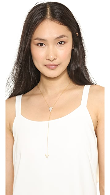 Mary Louise Designs Arrow Lariat Necklace