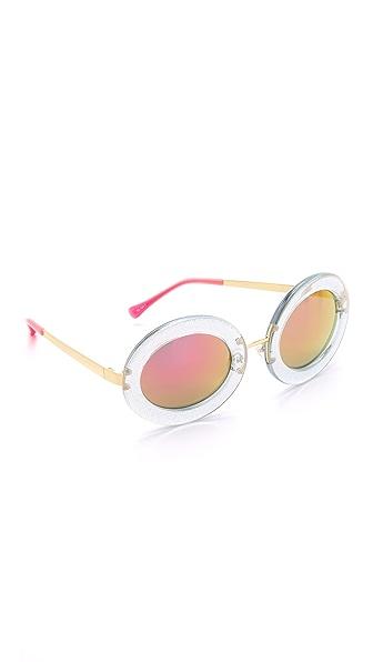 Markus Lupfer Round Revo Sunglasses