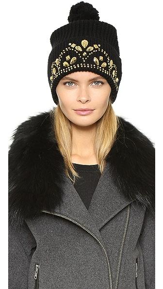 Markus Lupfer Tiara Beanie Hat