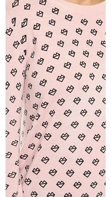 Markus Lupfer ML Kiss Lip Sweater