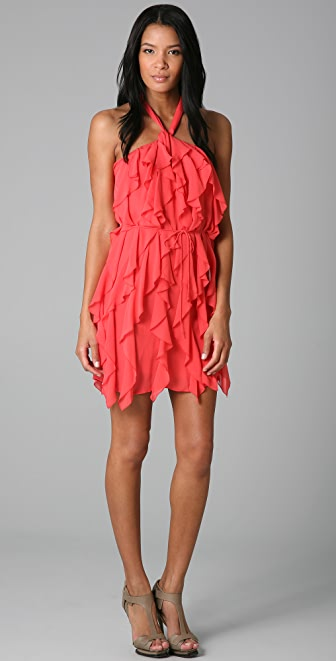 Madison Marcus Renewal Ruffle Dress