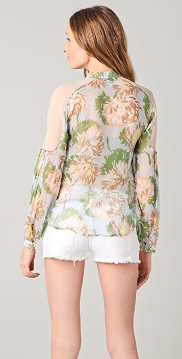 Madison Marcus Opulence Floral Blouse