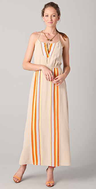 Madison Marcus Accomplish Pleated Long Dress