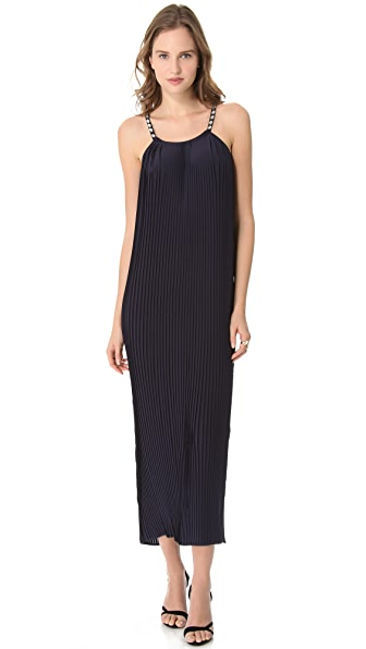 Madison Marcus Twinkle Halter Maxi Dress