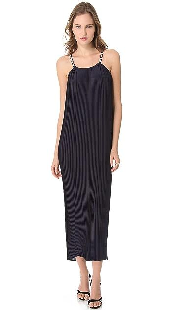 Madison Marcus Twinkle Halter Maxi Dress
