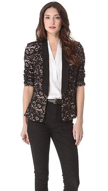Madison Marcus Magnetic Lace Blazer