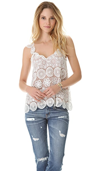 Madison Marcus Stimulate Lace Tank