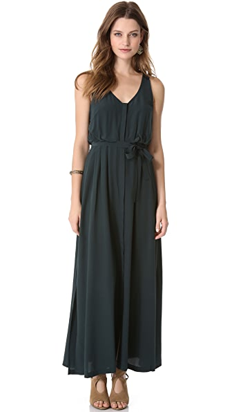 Madison Marcus Allure V Neck Gown