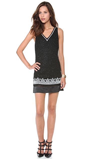 Madison Marcus Envision V Neck Dress