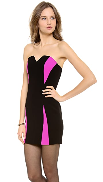 Madison Marcus Chroma Strapless Dress