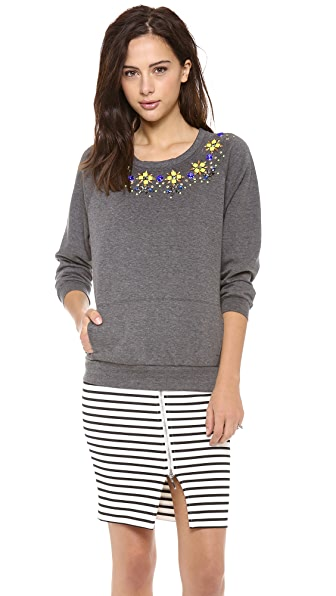 Madison Marcus Illuminate Embellished Top