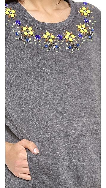 Madison Marcus Illuminate Embellished Top