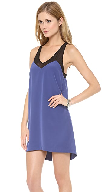 Madison Marcus Medal Racer Back Dress