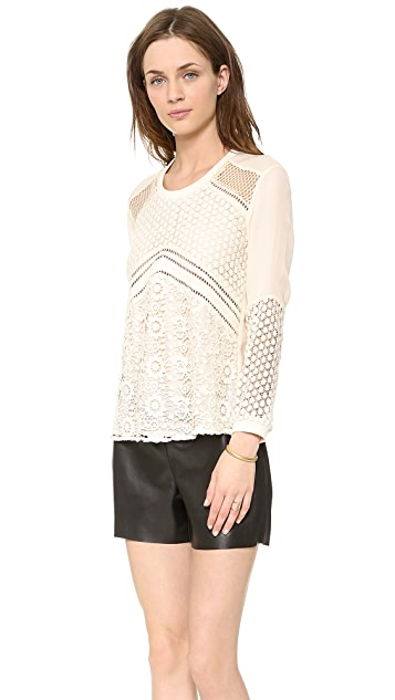 Madison Marcus Preen Lace Top