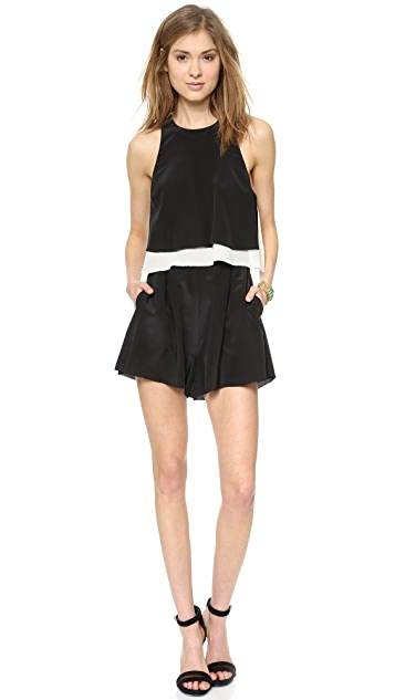 Madison Marcus Catapult Open Back Romper