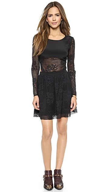 Madison Marcus Harmony Cutout Dress