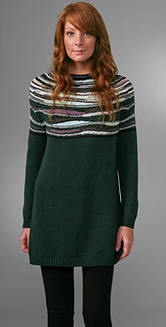M Missoni Long Sleeve Tunic