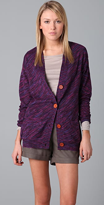 M Missoni Space Dye Boyfriend Cardigan