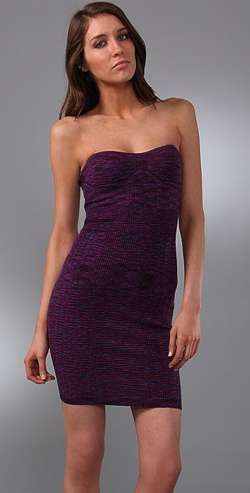 M Missoni Strapless Space Dye Dress