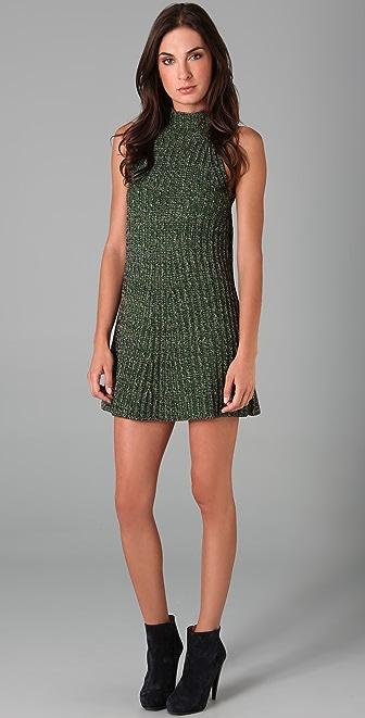 M Missoni Mock Neck Sweater Dress