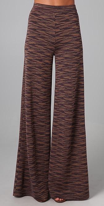 M Missoni Space Dye Wide Leg Pants