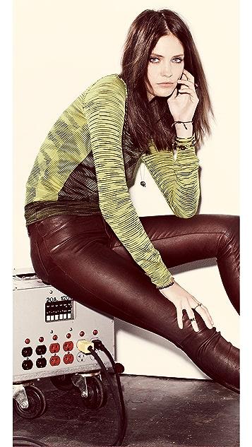 M Missoni Space Dye Intarsia Sweater