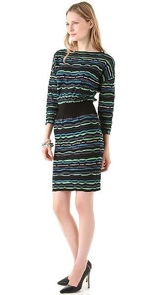 M Missoni Ribbon Stitch Dress