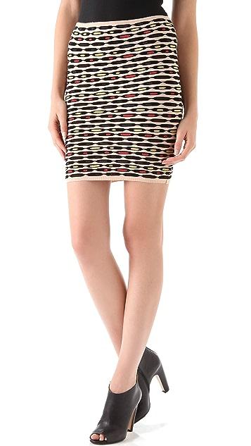 M Missoni Oval Striped Skirt / Top