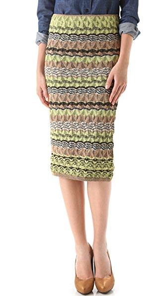 M Missoni Pointelle Skirt