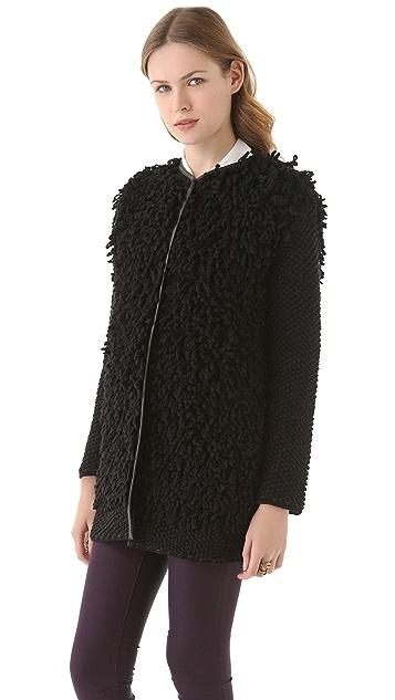 M Missoni Loop Stitch Coat
