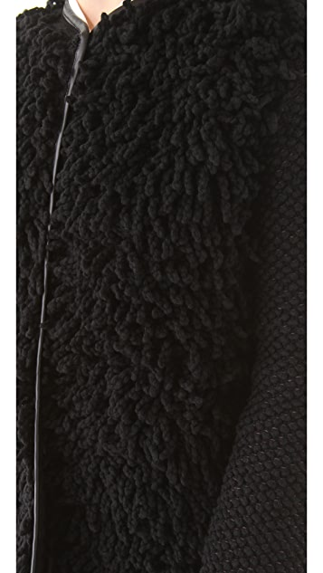 M Missoni Loop Stitch Coat