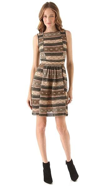 M Missoni Wave Peephole Dress