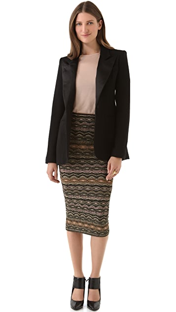 M Missoni Zigzag Skirt / Tube Dress