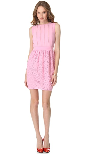 M Missoni Eyelet Sleeveless Dress