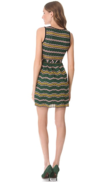 M Missoni Faux Wrap Dress