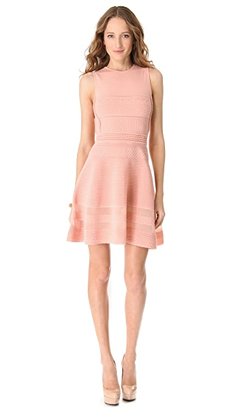 M Missoni Solid Rib Sleeveless Dress